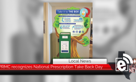 PRMC recognizes National Prescription Take Back Day