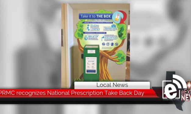 PRMC recognizes National Prescription Take Back Day