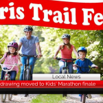 Paris Trail Fest drawing moved to Kids' Marathon finale || May 6
