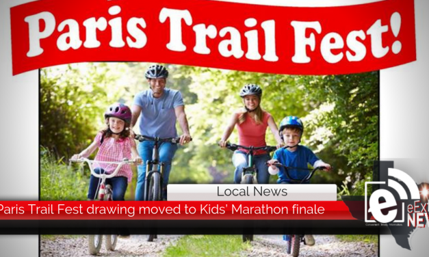 Paris Trail Fest drawing moved to Kids' Marathon finale    May 6