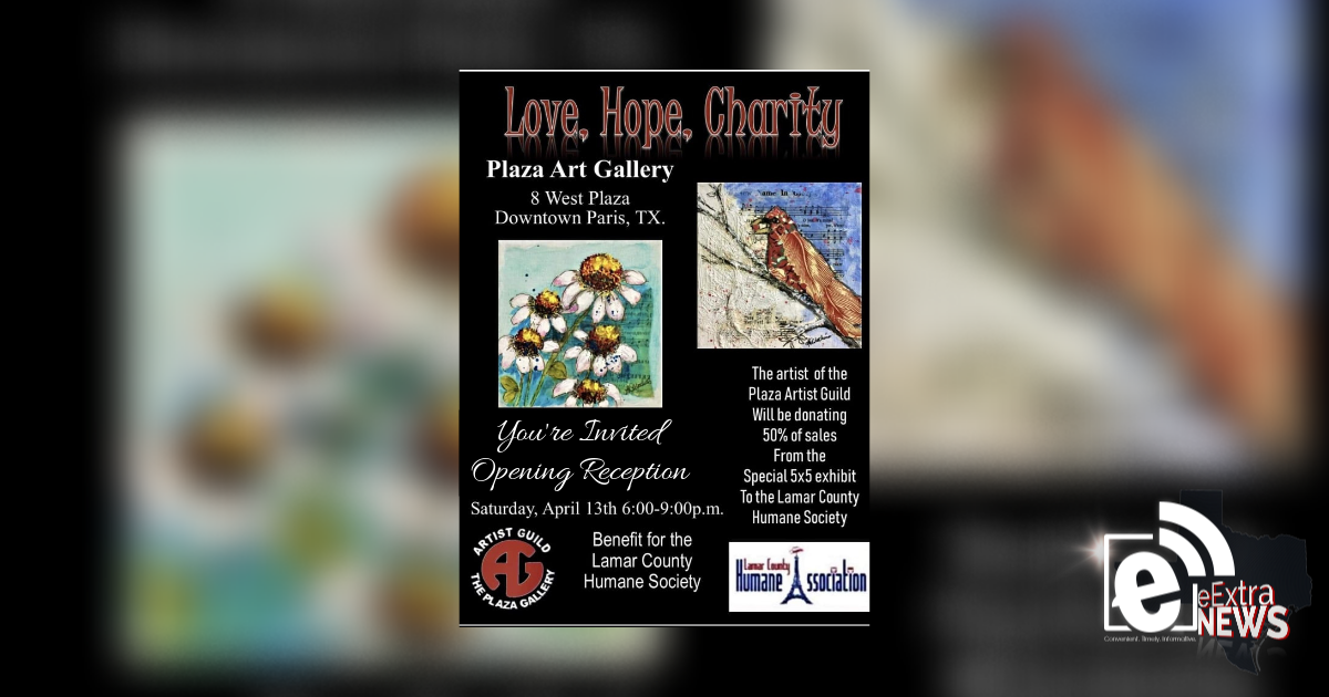 Plaza Art Gallery to hold art sale to benefit LCHA || Set for April 13, 6-9 p.m.