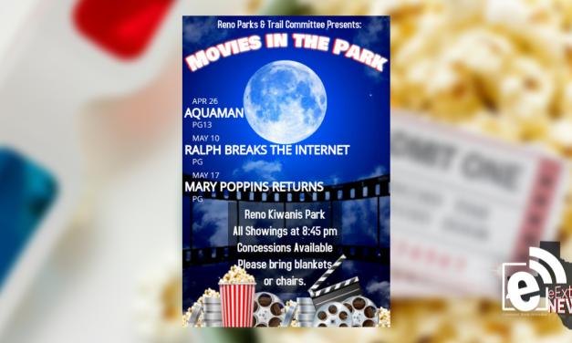 Reno Movies in the Parks kicks off its season on April 26