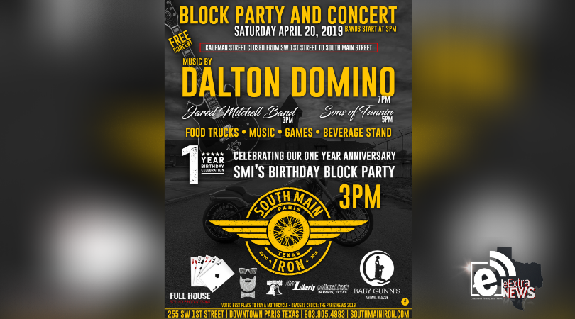 Block party and concert set for this weekend