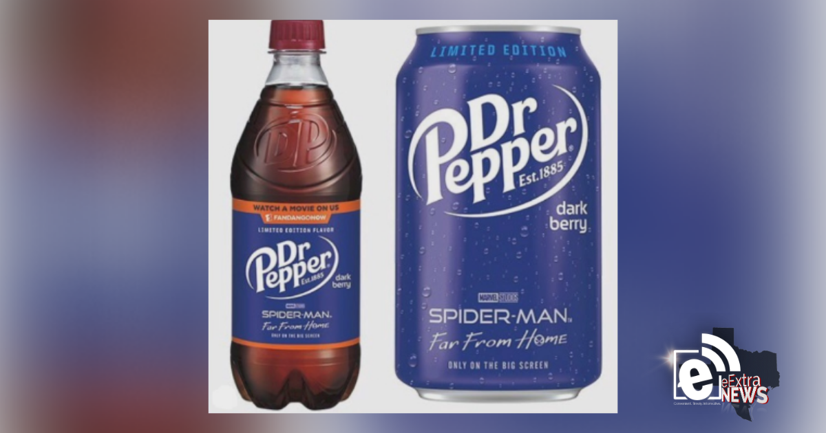Dr. Pepper introduces new flavor || Dark berry hits the shelves Wednesday