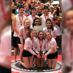 PHS Varsity Winter Guard Takes Silver Medal  at State Championships