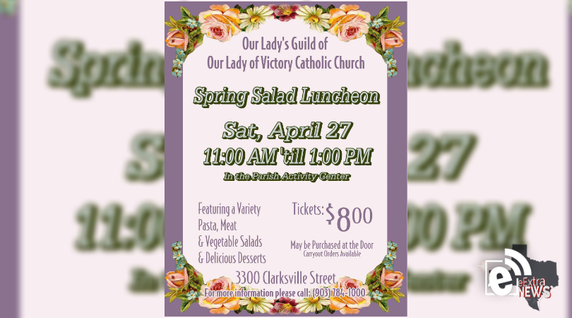 Our Lady of Victory spring salad luncheon