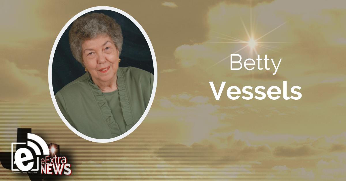 Betty Vessels of Paris, Texas    Obituary