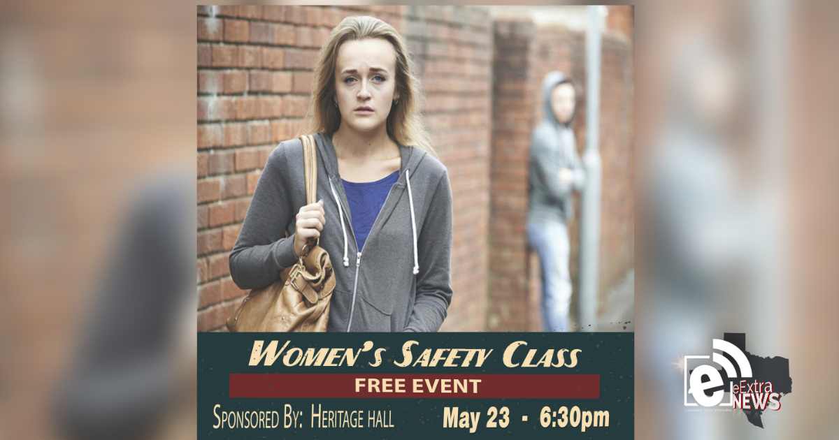 Free women's safety class slated for May 23 at Heritage Hall