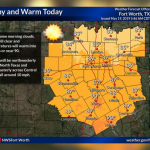 Today's temps to reach near 90    Sponsored by Quality Roofing