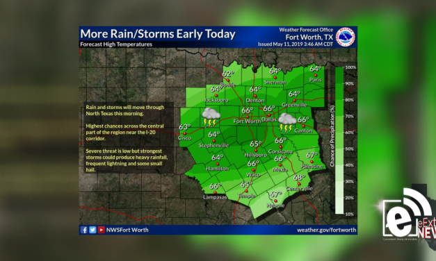 Rain and storm chances continue through morning    Sponsored by Quality Roofing
