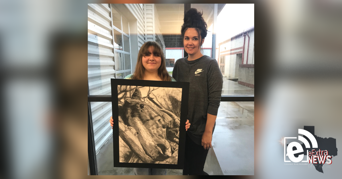 Chisum High School student wins 2019 Congressional Art Competition