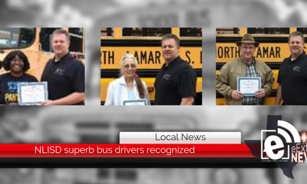Superb bus drivers recognized || North Lamar drivers keep students safe