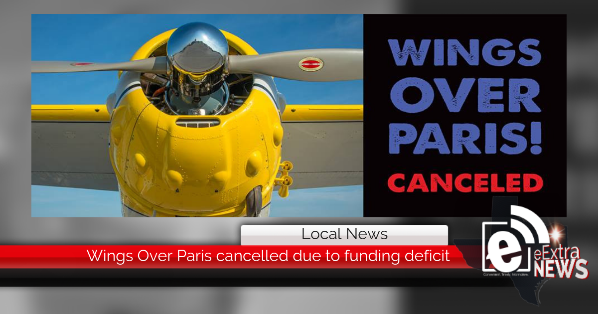 Wings Over Paris cancelled due to funding deficit || Content sponsored by Load Trail