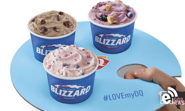 Dairy Queen unveils new mini blizzard flight tray