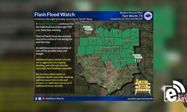 Flash flood watch continues through Saturday    Sponsored by Quality Roofing