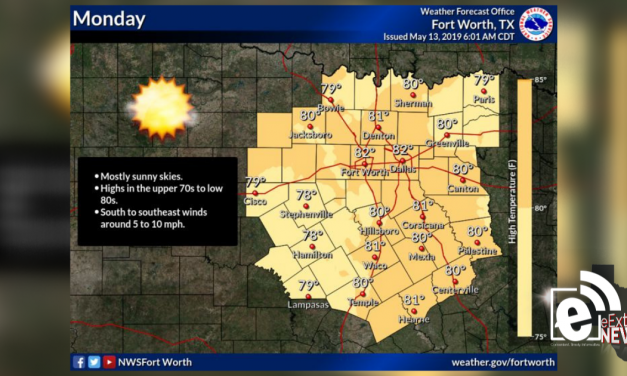 Highs expected to hit near 80s    Sponsored by Quality Roofing