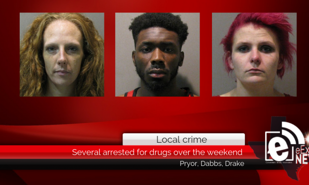 Several arrested for drugs over the weekend