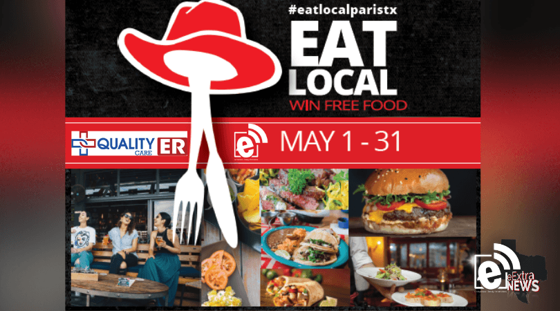 Eat local and enter to win big this Friday