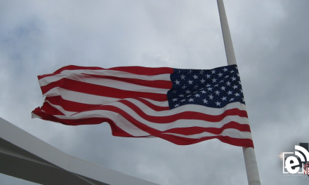 Flags to fly at half staff for Memorial Day until noon