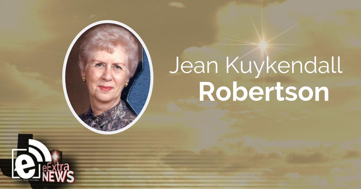 Jean Kuykendall Robertson || Obituary