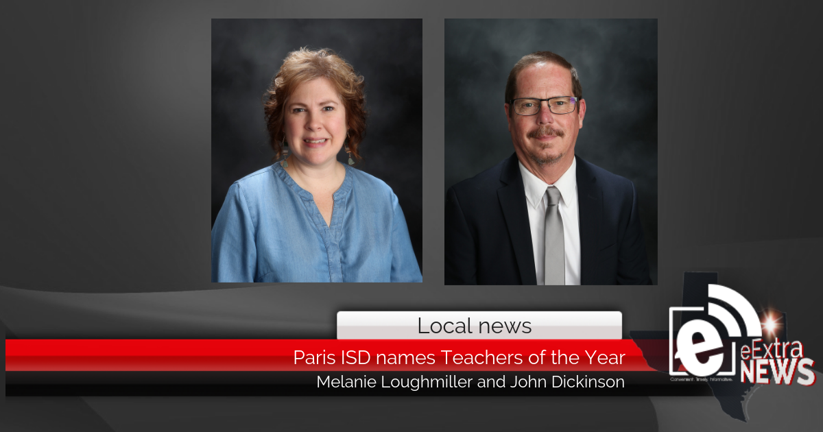 Paris ISD names Teachers of the Year