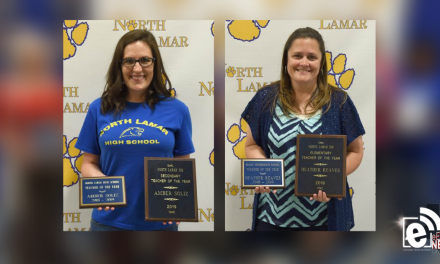 Soliz and Reaves named NL Teachers of the Year || Employees receive special awards and service pins