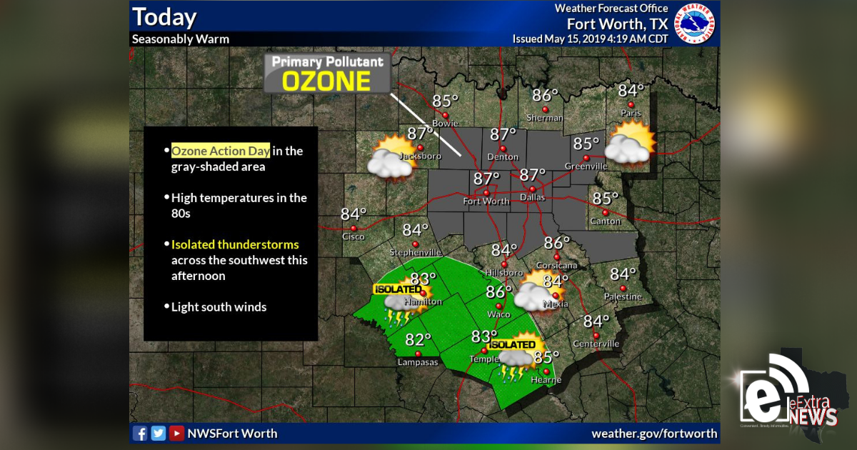 Partly to mostly sunny skies expected today || Sponsored by Quality Roofing