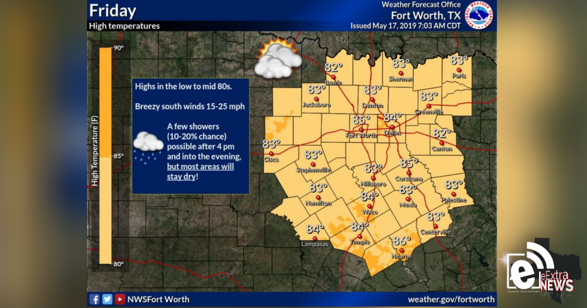 Mostly dry day ahead, storms expected this weekend    Sponsored by Quality Roofing