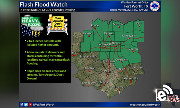Flash Flood Watch extended through 7 p.m.    Sponsored by Quality Roofing
